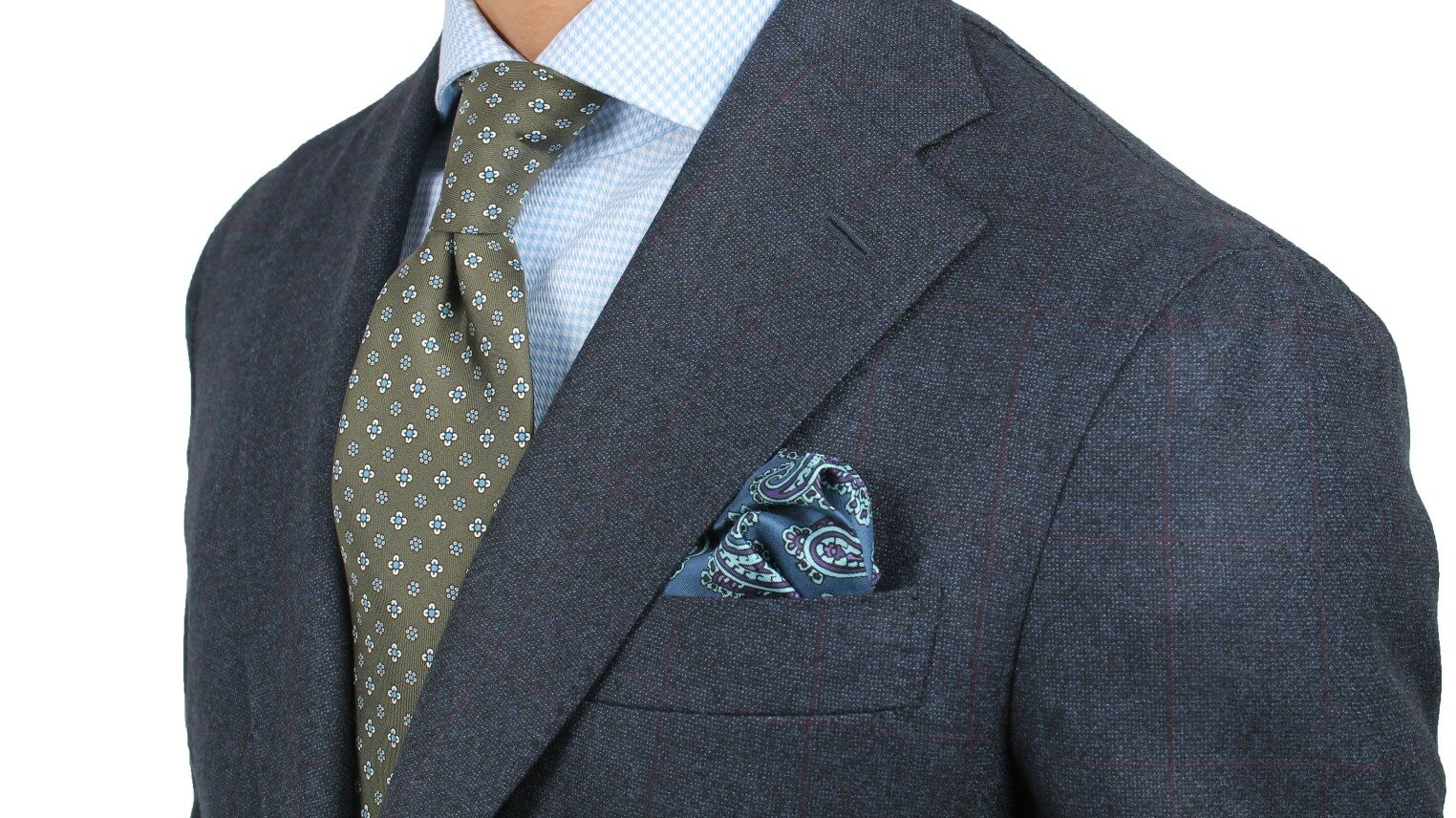 Cordone1956 flannel suit handmade