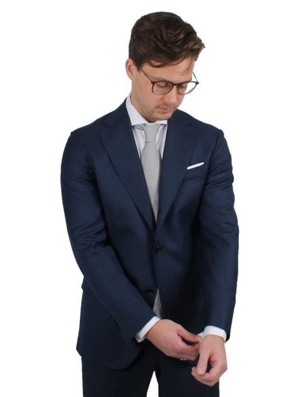 Cordone1956 blue suit