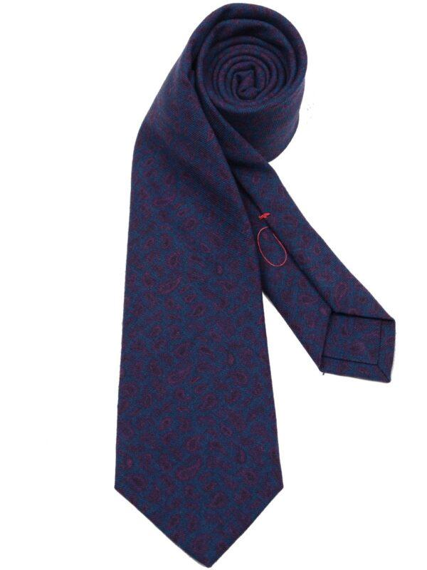 Isaia Napoli sevenfold tie wool