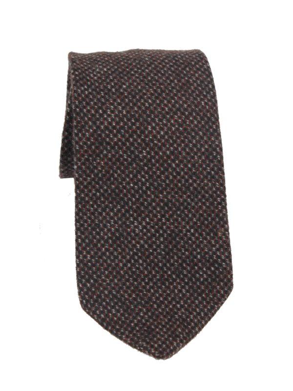 Drake's cashmere tie