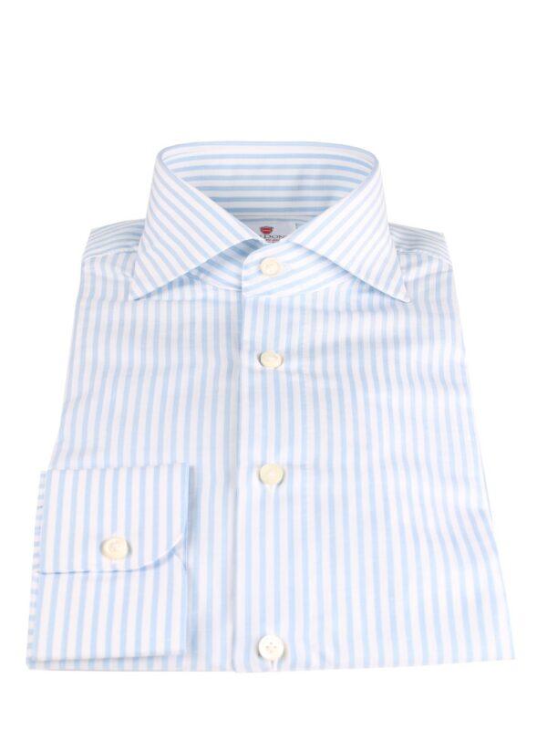 Cordone1956 handmade striped linen shirt