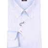 Barba Napoli button down shirt blue oxford