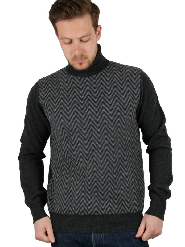 Boglioli cashmere turtleneck sweater