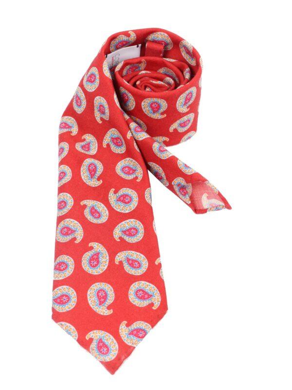 Cordone1956 sevenfold wool tie