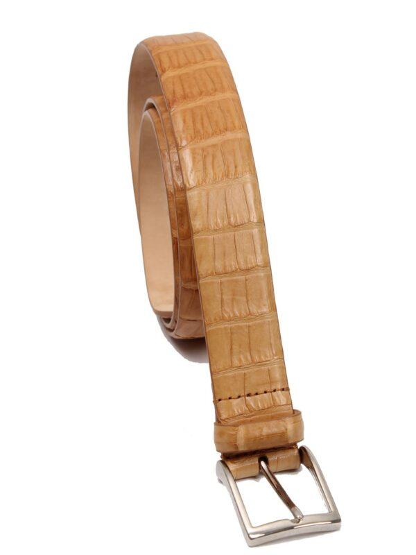 Simonnot Godard crocodile belt