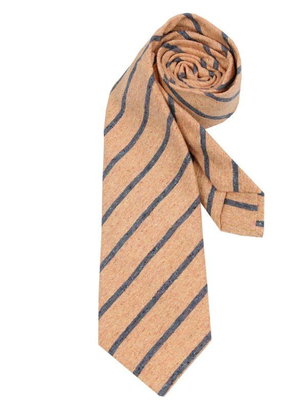 Kiton Napoli silk tie shantung silk