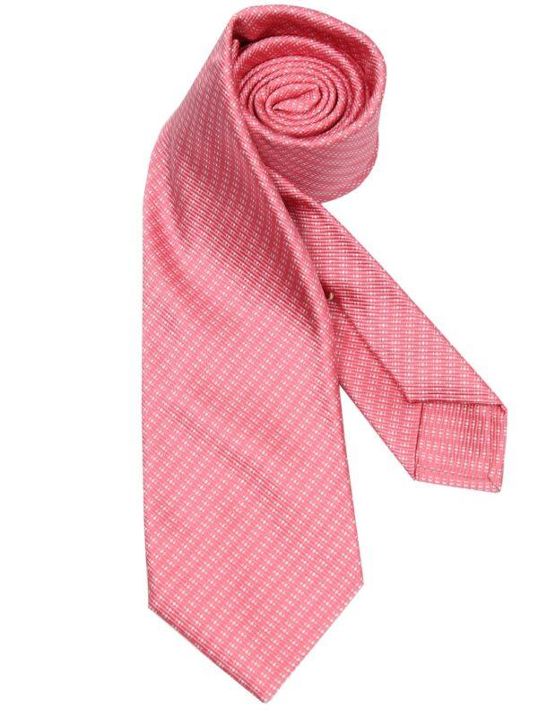 Kiton Napoli silk tie pink