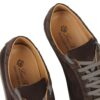 Loro Piana suede sneakers with alligator