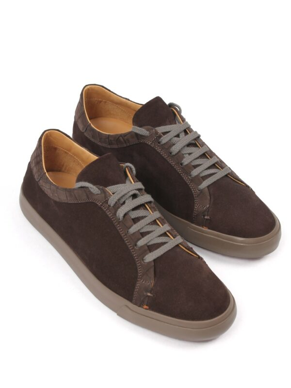 Loro Piana suede sneakers