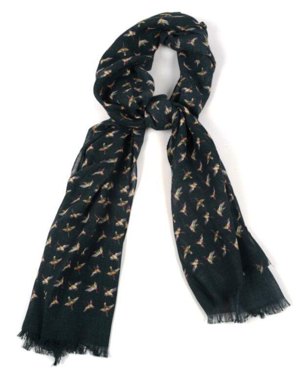 Cordone1956 wool silk scarf