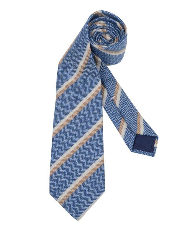 Luigi Borrelli tie wool striped