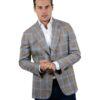 Cordone1956 wool silk linen blazer
