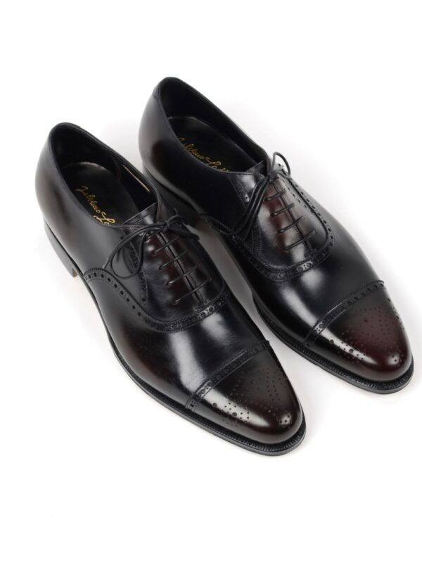 Silvano Lattanzi black oxfords handmade