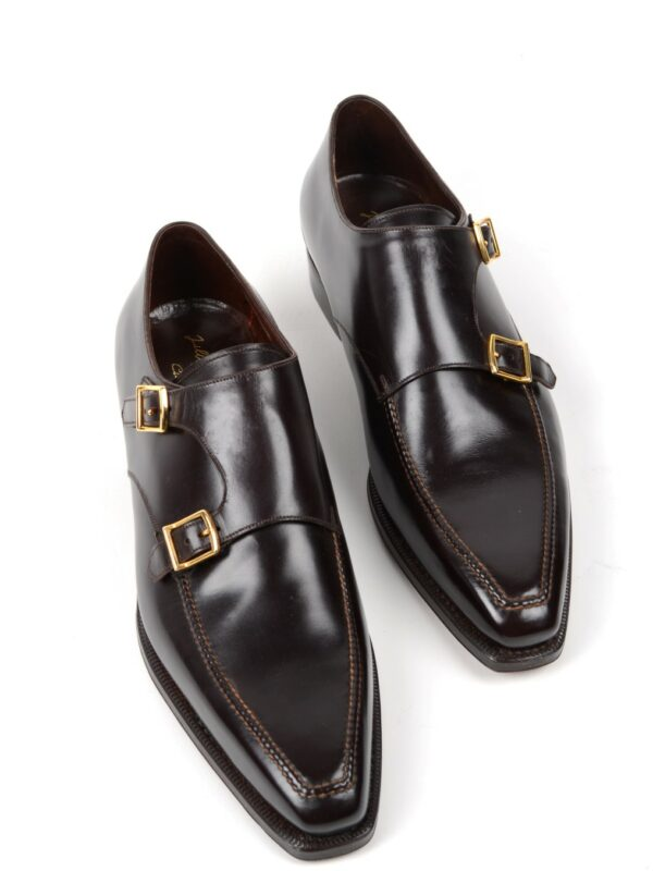 Silvano Lattanzi double monk shoes calf