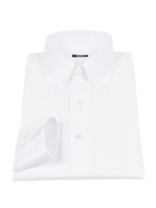 Barba Napoli twill button down shirt