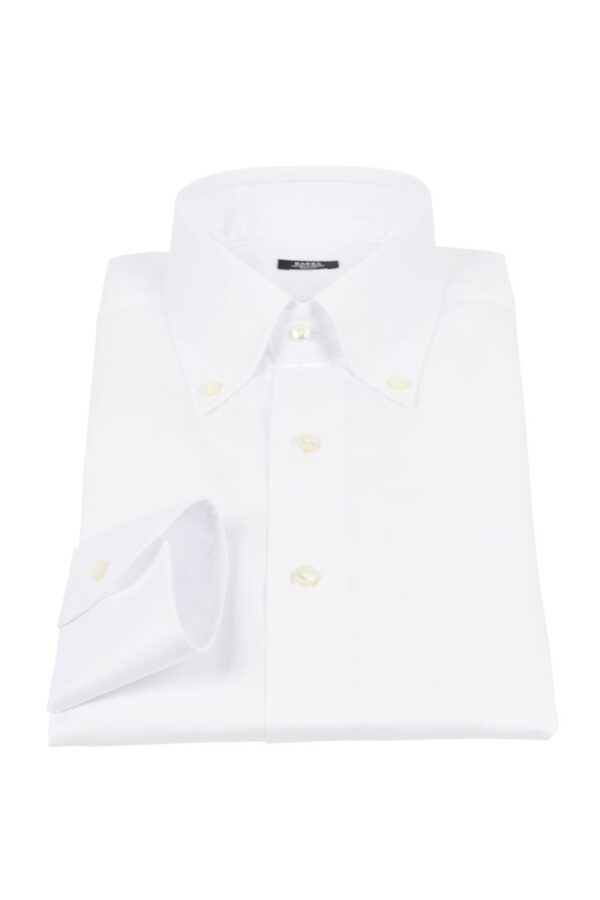 Barba Napoli twill button down shirt