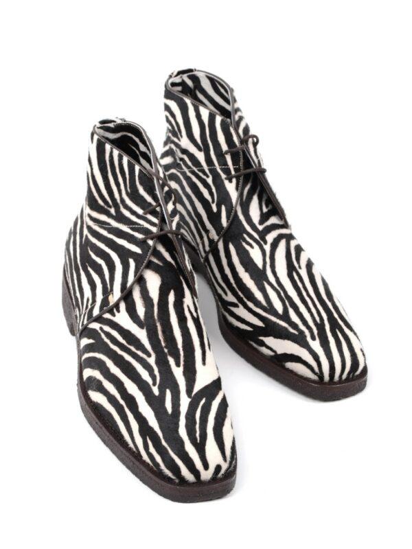 Max Verre zebra boots
