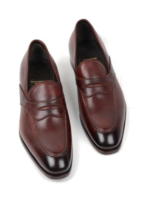 Max Verre penny loafers red