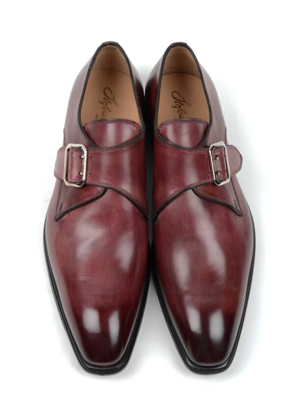 Stefano Branchini single monk strap