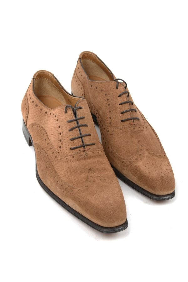 Stefano Branchini suede wing tip
