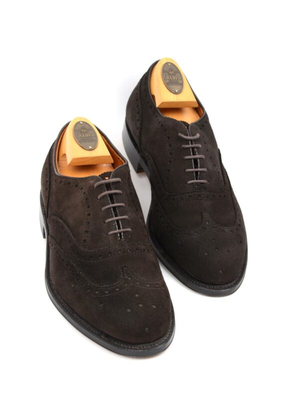 Alden suede shoes brown