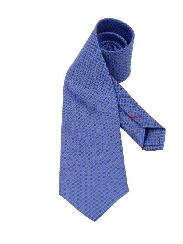 Cordone1956 silk tie blue