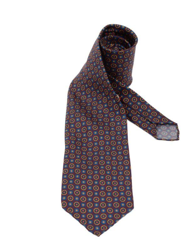 Cordone1956 silk tie sevenfold