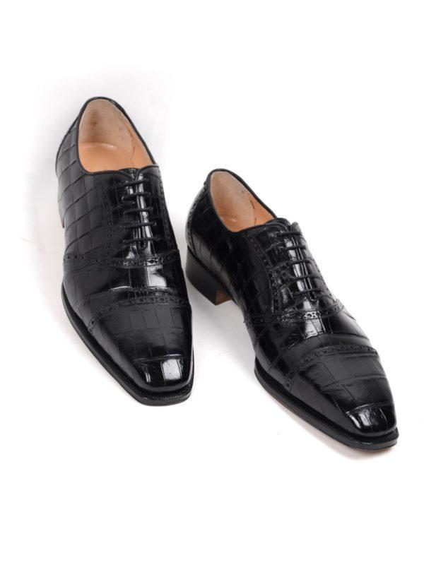 Silvano Lattanzi Alligator shoes handmade