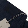 Brioni flannel five pocket pant blue