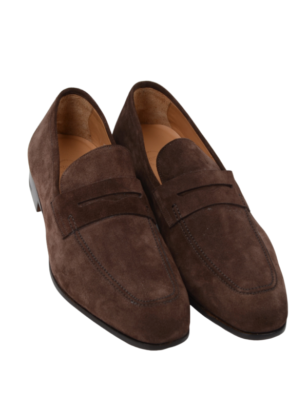 Paolo Scafora penny loafers reversed