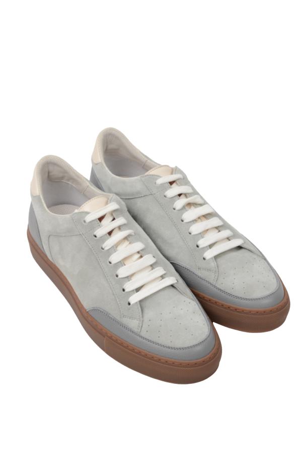 Brunello Cucinelli sneakers suede mintgreen