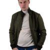 Valstarino wool jacket green