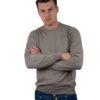 Barba Napoli sweater brown merino wool
