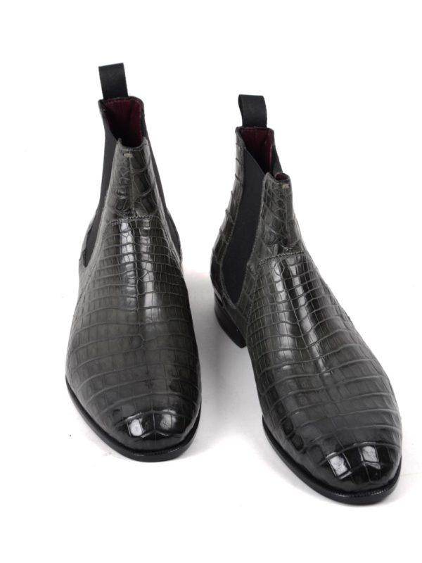 Lidfort crocodile boots chelsea