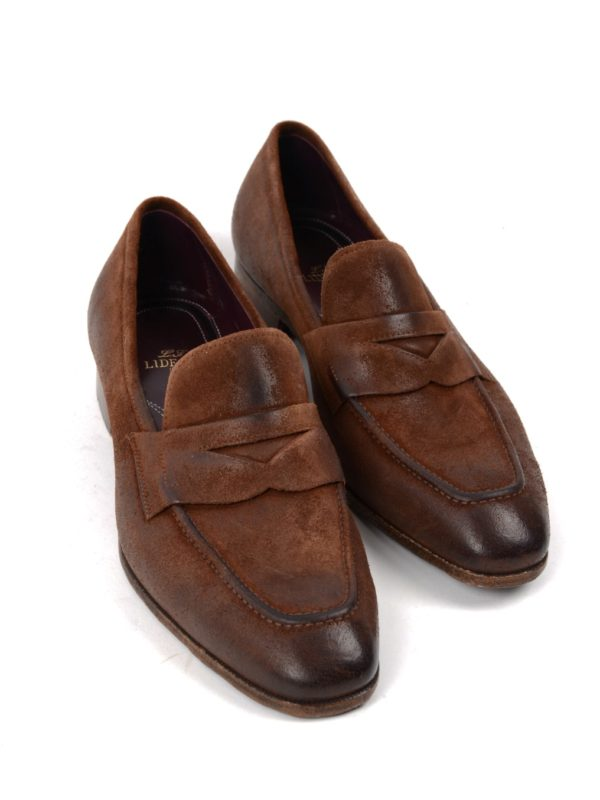 Lidfort penny loafers