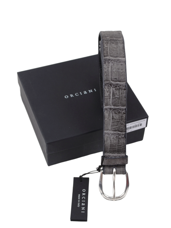 Orciani crocodile belt