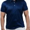 Cordone1956 navy polo t-shirt