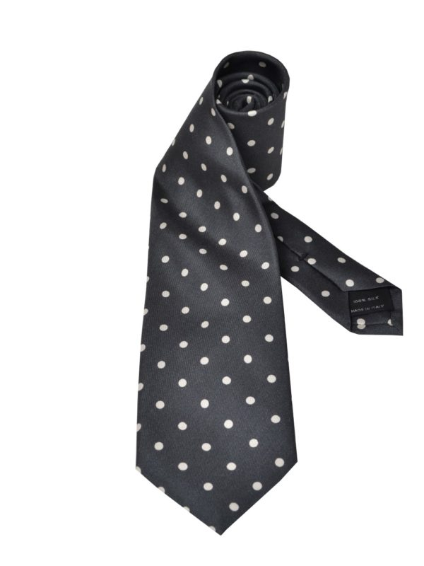 Tom ford silk tie polka dot