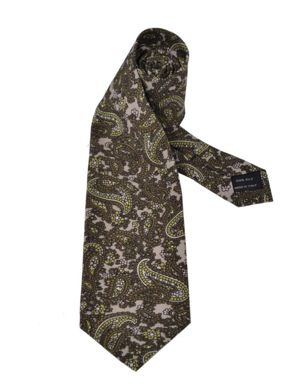 Tom ford silk tie paisley