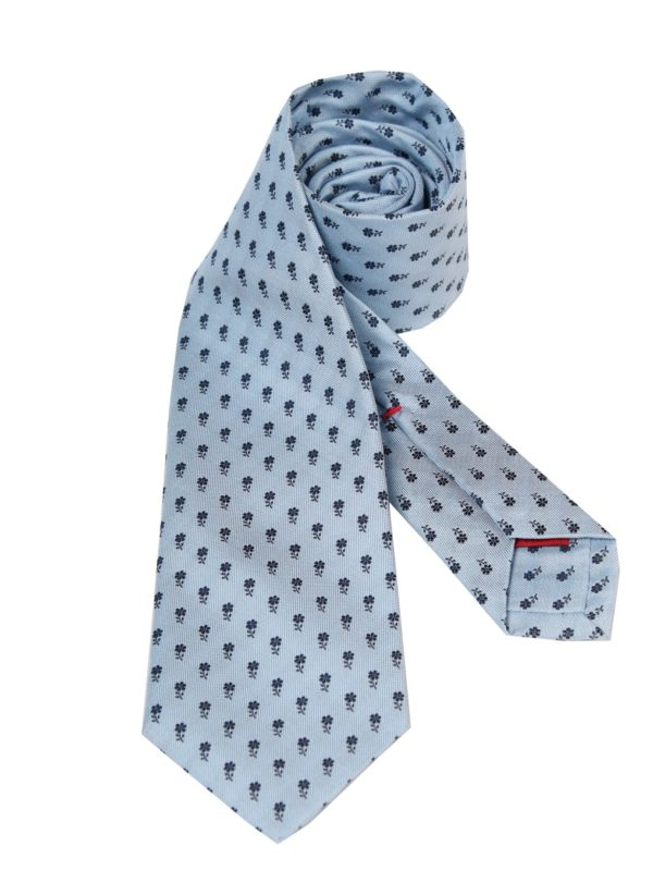 Isaia silk sevenfold tie