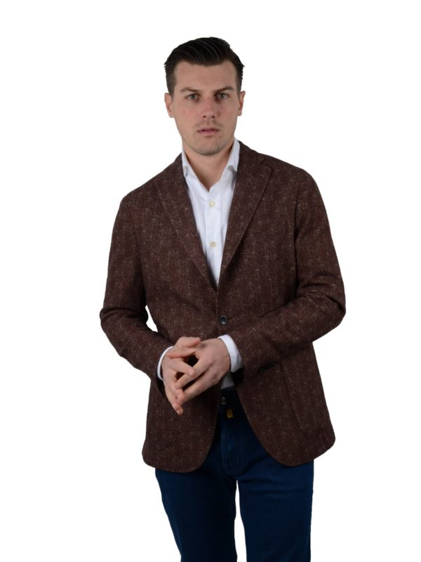 Boglioli blazer wool cashmere