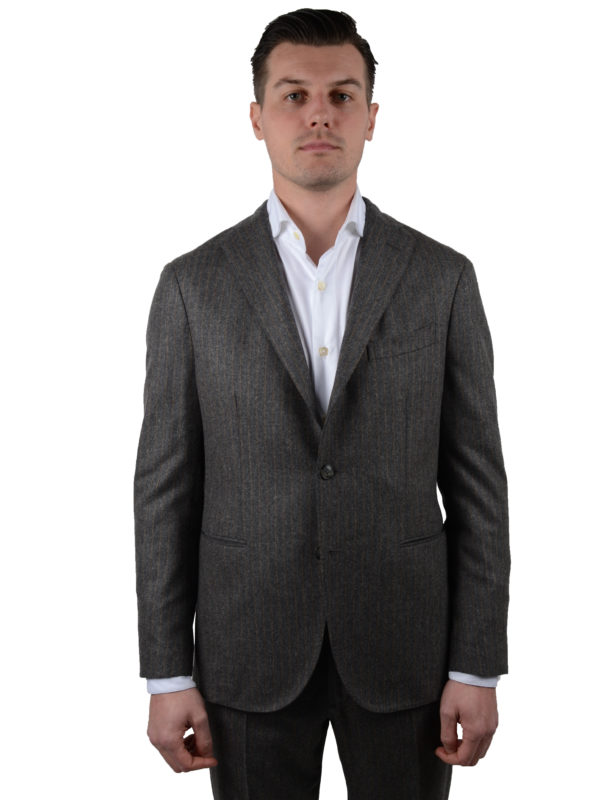 Boglioli flannel suit
