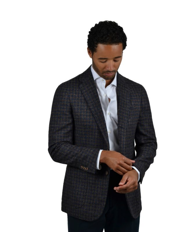 Stile Latino wool silk blazer