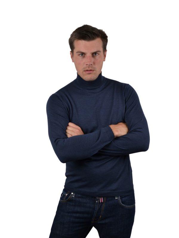 Stile Latino wool turtleneck sweater