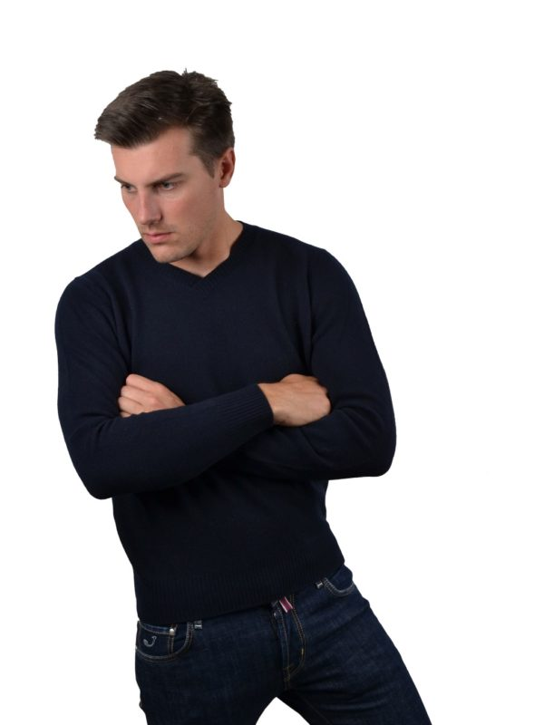 Stile Latino wool cashmere turtleneck sweater