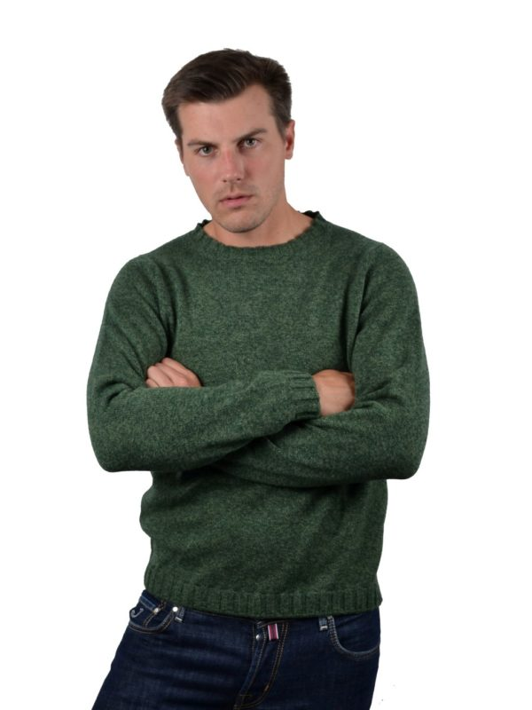 Stile Latino cashmere green sweater