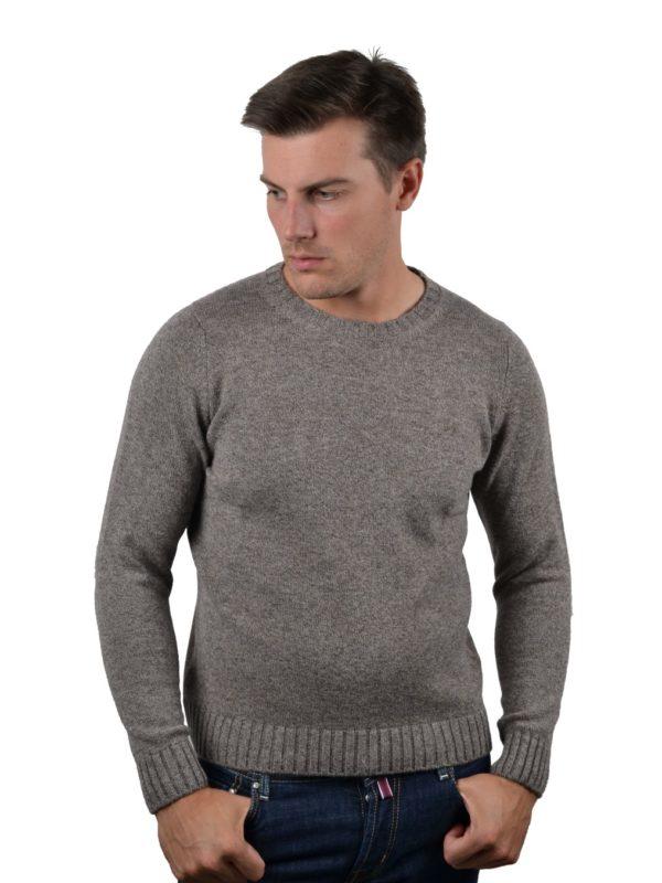 Stile Latino cashmere sweater brown