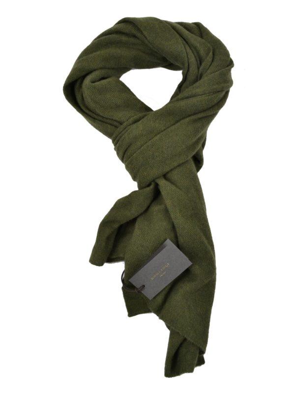 Boglioli wool cashmere scarf