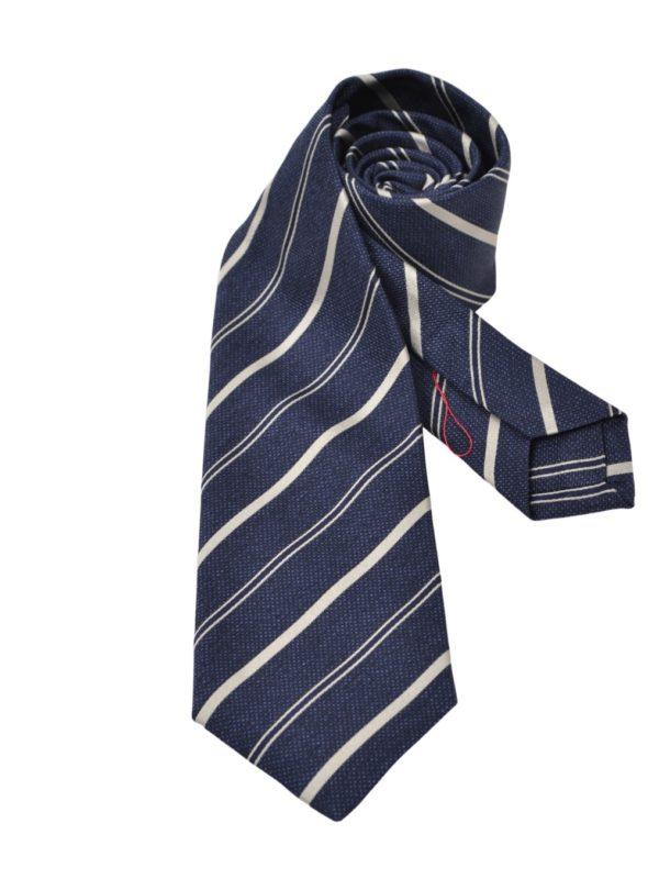 Isaia Napoli sevenfold silk tie