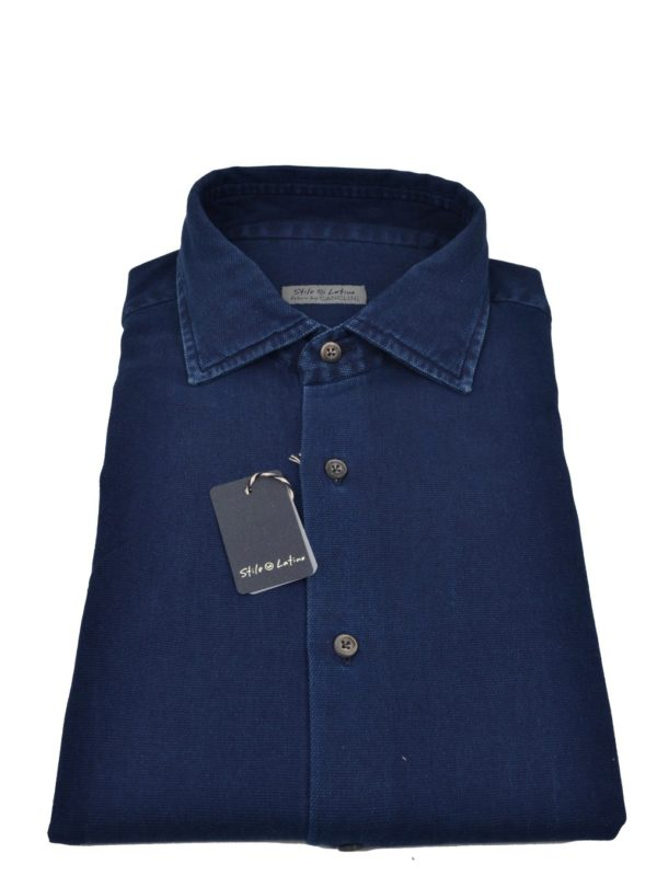 Stille Latino denim shirt